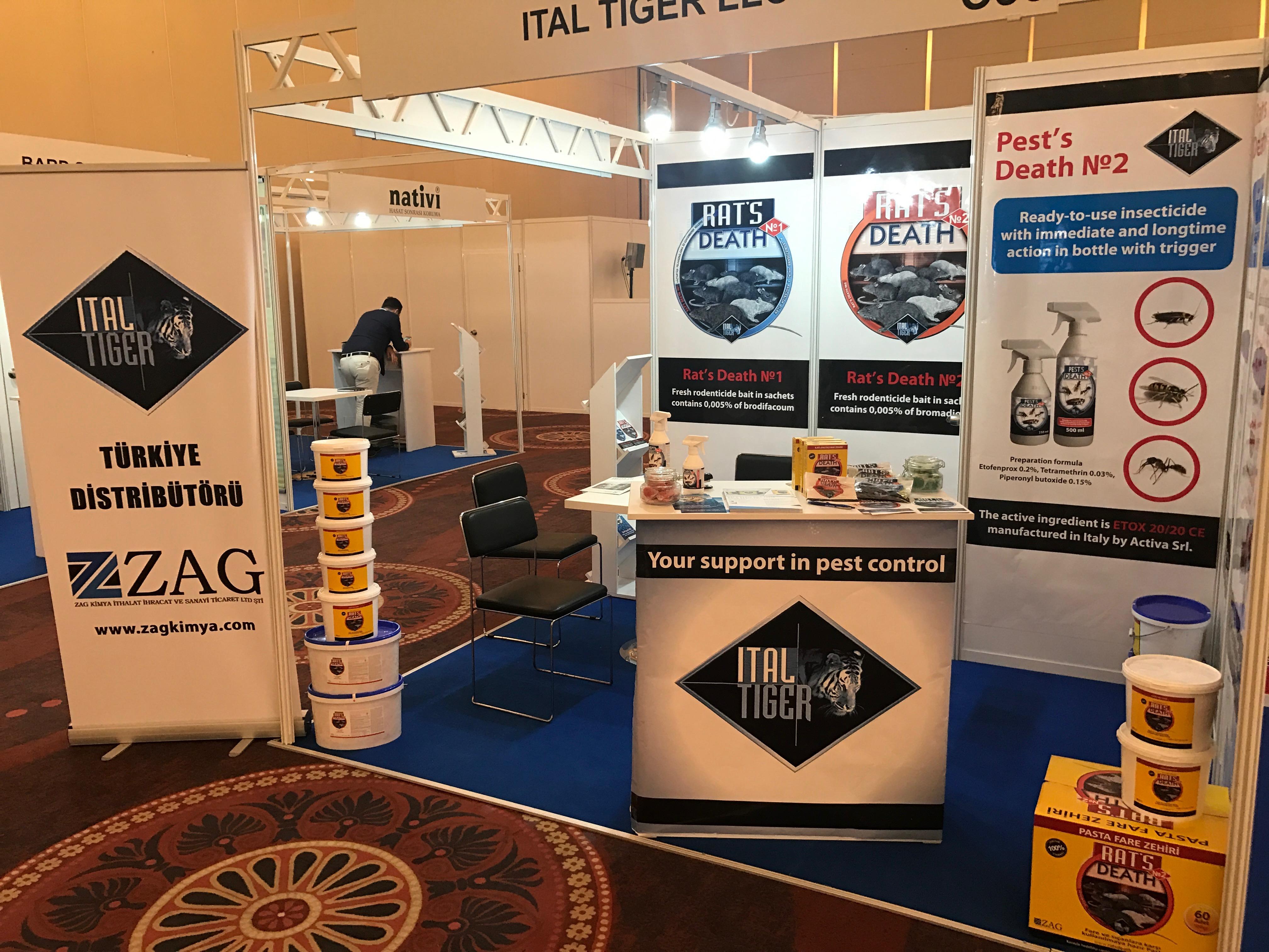 International pest control exhibition Parasitec 2017 in Istanbul