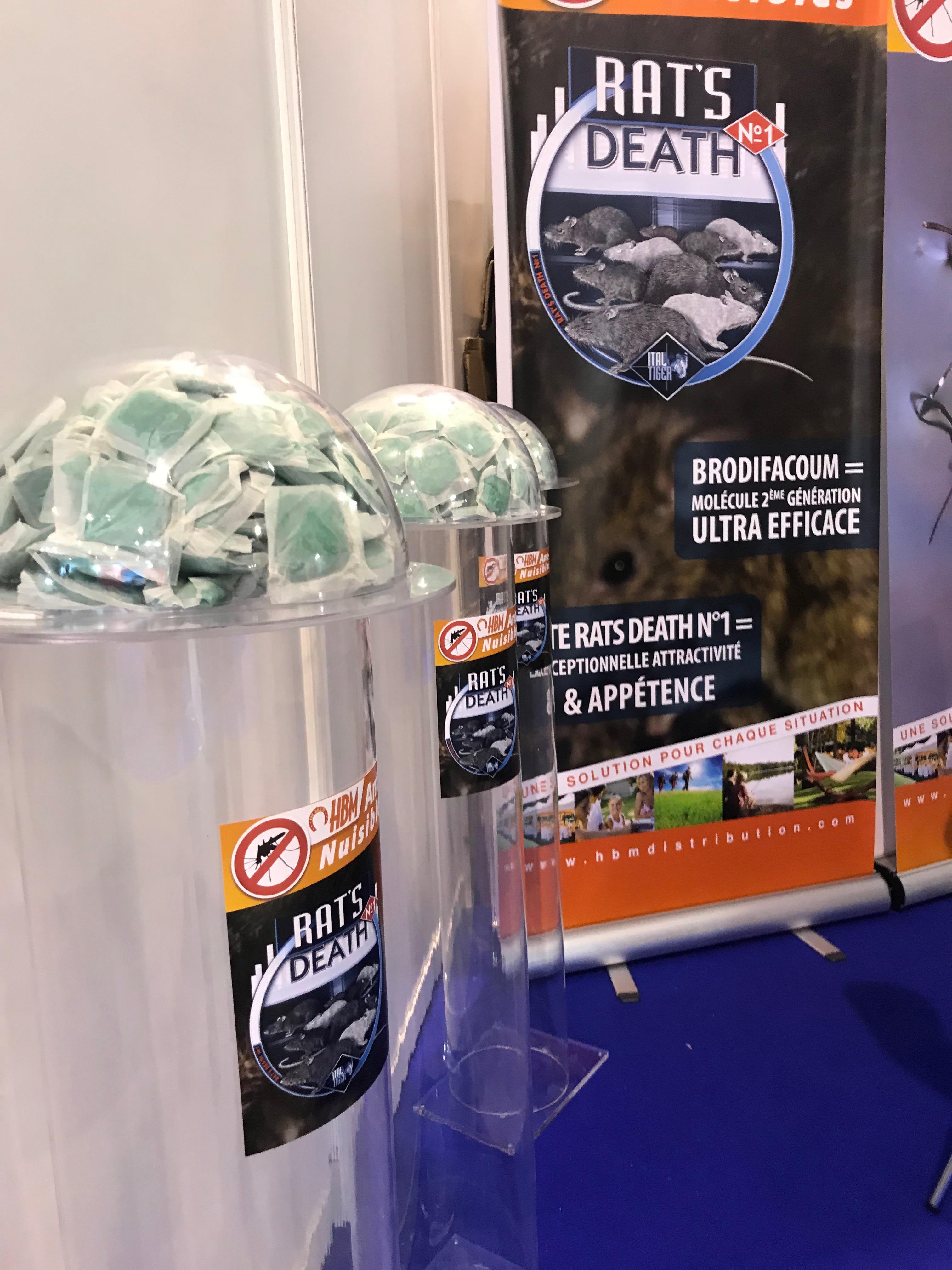 International pest control exhibition Parasitec 2018 in Paris